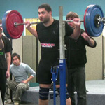 Hannibal with a 200kg squat PB