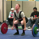 Pat with a 135kg deadlift