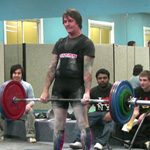 Locking out 180kg with ease