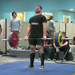 Hannibal ending the day with a 600kg total